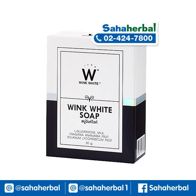 Wink White Soap สบู่วิงค์ไวท์ SALE 60-80% ฟรีของแถมทุกรายการ