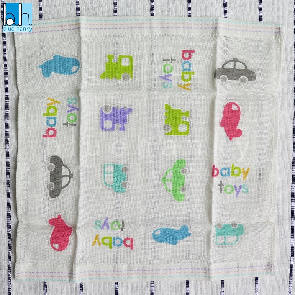 ผ้าสาลูลายรถ baby toys