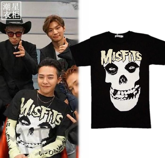 เสื้อยืด MISFITS Sty.G-Dragon -ระบุสี/ไซต์-