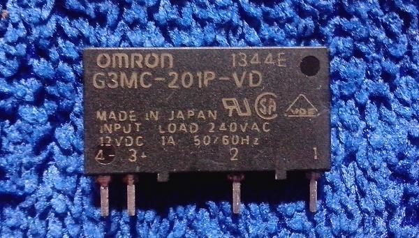 (5 ตัว) Solid State Relay 1A/230 Vac - Omron