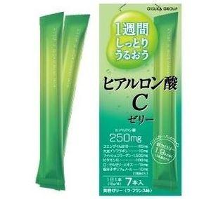 Otsuka Hyaluronic C Jelly เจลลี่ไฮยารูรอน ผิวนุ่มชุ่มชื่น ผิวเต่งตึง ย้อนวัย