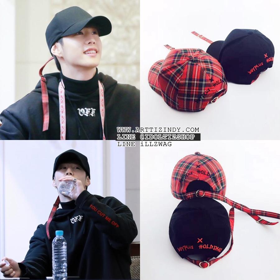 หมวก BOY+ x Holdsway แบบ MARK -ระบุแบบ-