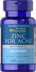 Zinc for Acne ควบคุมการเกิดสิว ทั้งสิวผด สิวหนอง สิวอักเสบ และรวมควบคุมความมัน