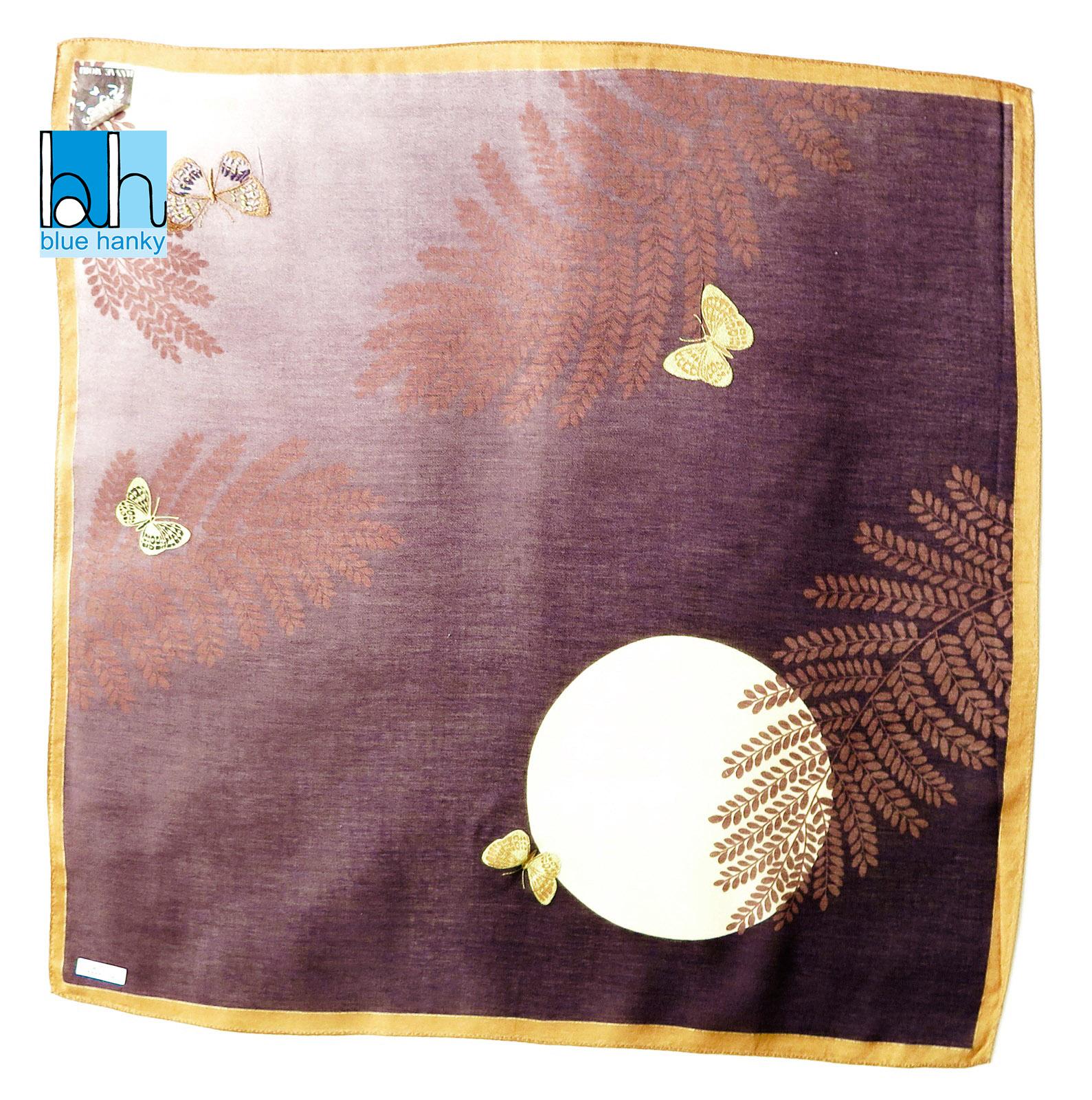 """#158 19"""" ญี่ปุ่น ผ้าเช็ดหน้ามือ2 สภาพดี ผ้าเช็ดหน้าผืนใหญ่"""