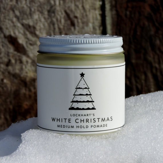 Lockhart's Limited Edition White Christmas Medium Hold Pomade (Oil Based) ขนาด 4 oz.