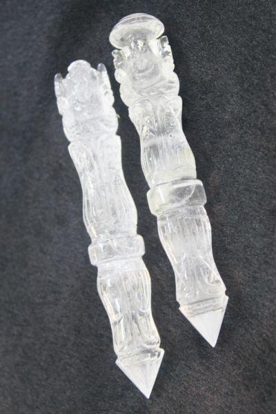 คฑาคริสตัล ( Rock Crystal Wands )