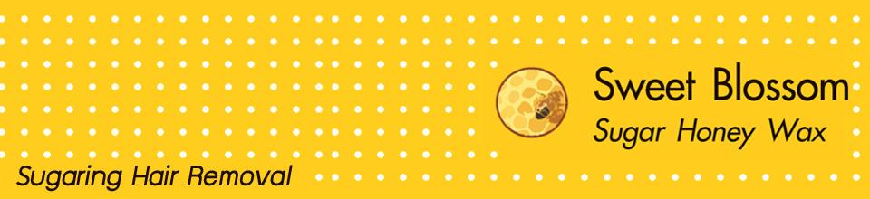 แว๊กซ์กำจัดขน SWEET BLOSSOM Sugar Honey Wax