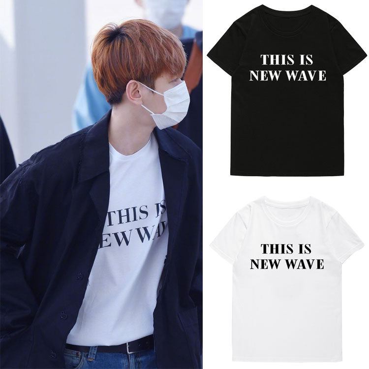 เสื้อยืด THIS IS NEW WAVE Sty.Baekhyun -ระบุสี/ไซต์-