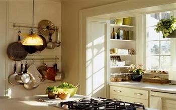 วิธีการจัดห้องครัวขนาดเล็กตามลักษณะห้องครัว