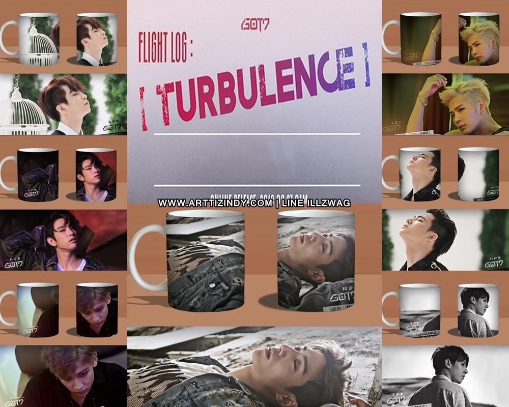 แก้วมัค GOT7 TURBULENCE - HARD CARRY -ระบุสมาชิก-