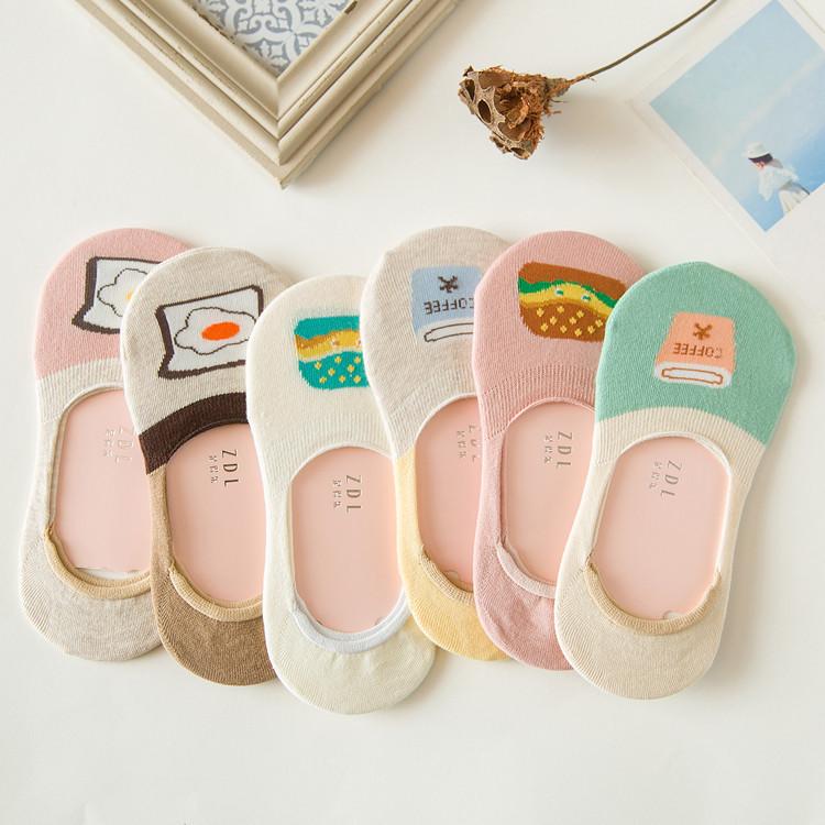 ถุงเท้าแฟชั่นลายน่ารัก (3 คู่ 120 บาท)