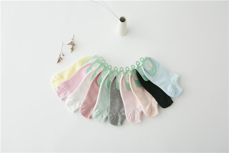 Pastel socks ถุงเท้าสีพาสเทลหวาน ๆ (3 คู่ 100 บาท)