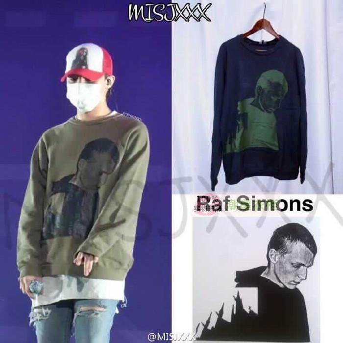 เสื้อแขนยาว Raf Simons BLUE Sty.G-Dragon -ระบุไซต์-