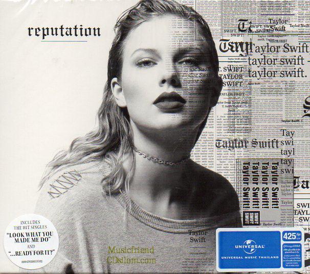 CD,Taylor Swift Reputation(Thai)