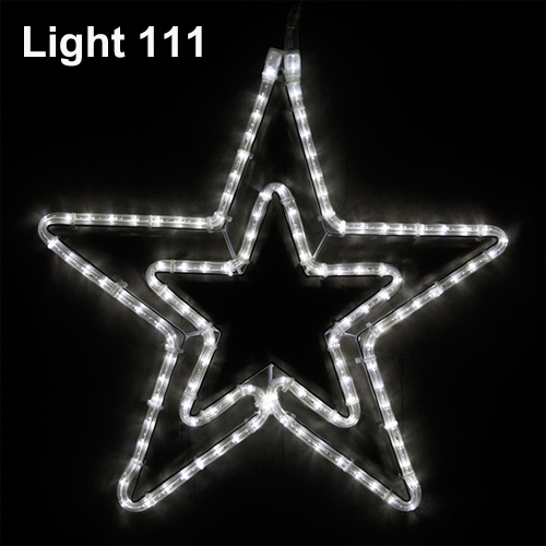 Star LED 54 cm. ( w ) cl-019