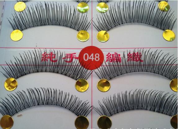 V-048 ขนตาเอ็นใส(ราคาส่ง) ขั้นต่ำ 15 เเพ็ค คละเเบบได้