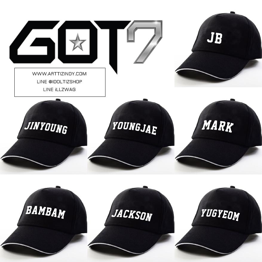 หมวก Ver.2 GOT7 member -ระบุสมาชิก*-