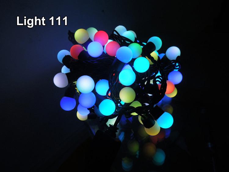 ไฟเชอรี่ LED สีรวม
