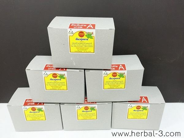 เจียวกู่หลานแท้100% คัดพิเศษเกรดA ใบล้วน ชนิดกล่อง จำหน่ายเป็นชุด 6 กล่อง