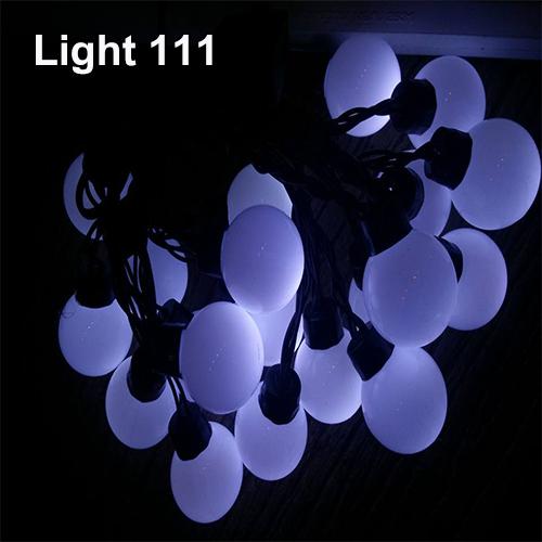ไฟปิงปอง 20 led สีขาว cl-031