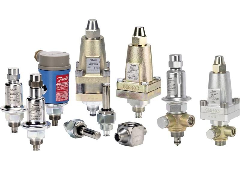 EVM / CV, pilot valves/valve body for Pressure and Temperature Regulators