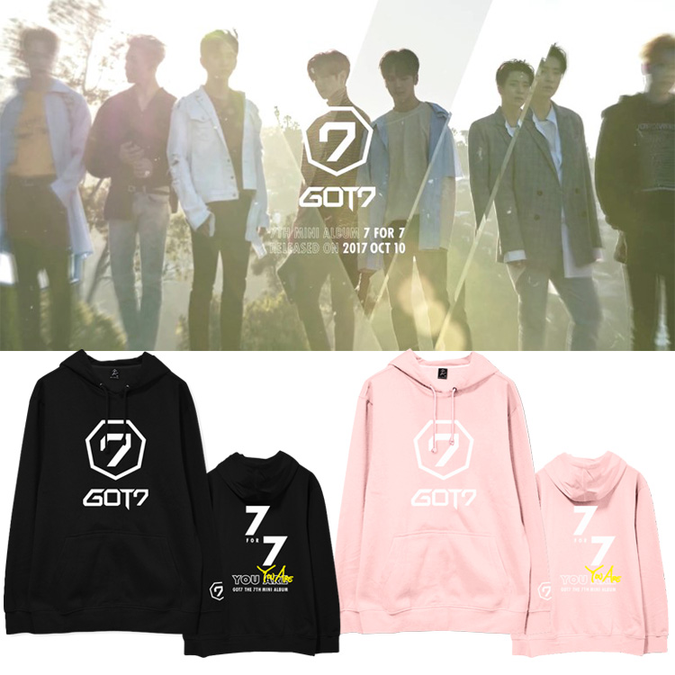 Hoodie GOT7 7 FOR 7 You Are Logo -ระบุสี/ไซต์-