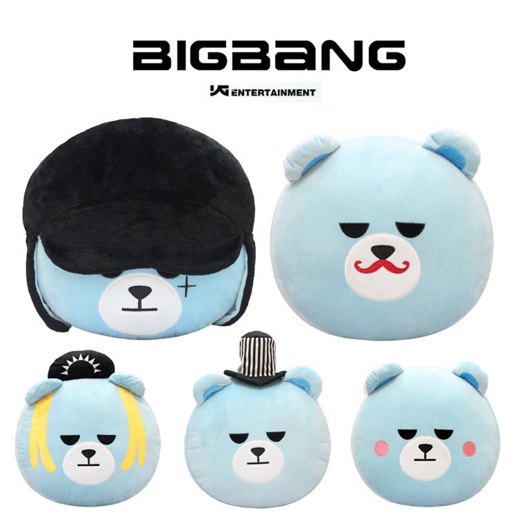 หมอนหมี KRUNK BIGBANG -ระบุสมาชิก-