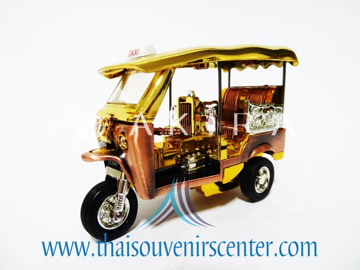 รถตุ๊กตุ๊กจำลอง S สีทอง (Pre-Order)