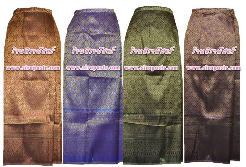 """ผ้าถุงป้ายข้างสำเร็จรูป FA-1 (เอวใส่ได้ถึง 30""""/32""""/34"""") เลือกสี / *ตามรายละเอียดสินค้าในหน้าฯ"""