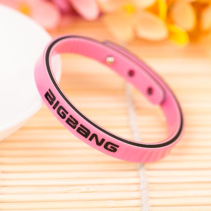 สายรัดข้อมือ i2i > BIGBANG สีชมพู เส้นละ