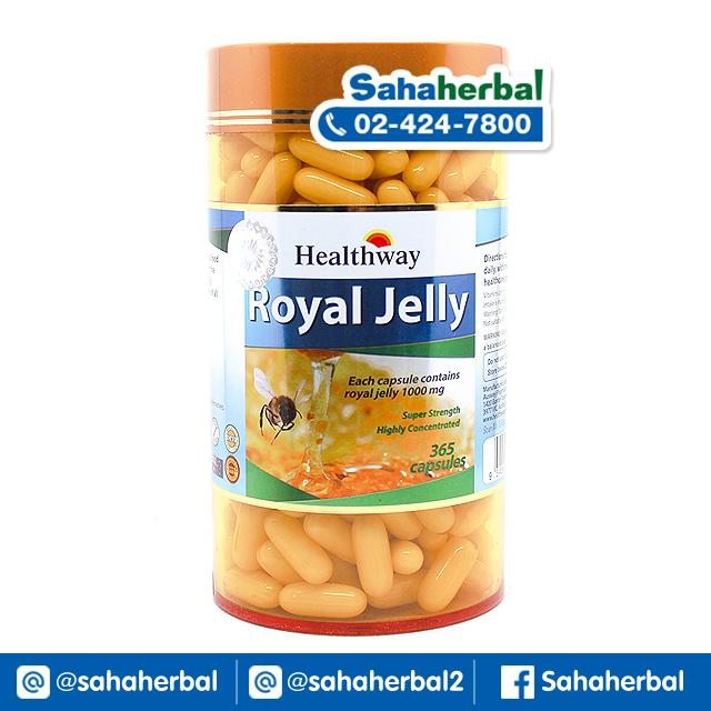 Healthway Royal Jelly 1000 mg นมผึ้งเฮลท์เวย์ SALE 60-80% ฟรีของแถมทุกรายการ