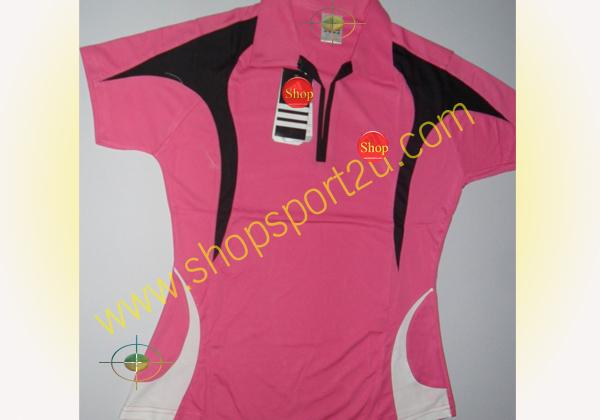 เสื้อกีฬา ad....s สีชมพู - ดำ