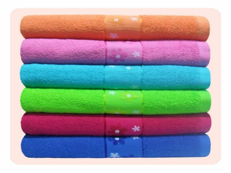 ผ้าขหนู Cotton100% 15*30นิ้ว 2.8ปอนด์ โหลละ 450บาท ส่ง 10 โหล