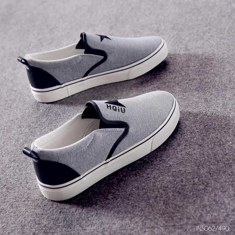 รองเท้าผ้าใบแฟชั่น Slip on ขนาด 35-39