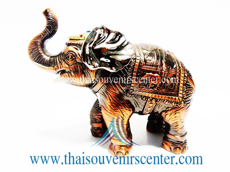 ของพรีเมี่ยม ของที่ระลึกไทย ช้าง แบบ 18 Size M สีทองแดง
