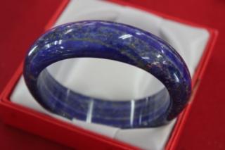 """"""" กำไลข้อมือหินธรรมชาติ """" ลาพิส ลาซูลี (Lapis Lazuli)"""