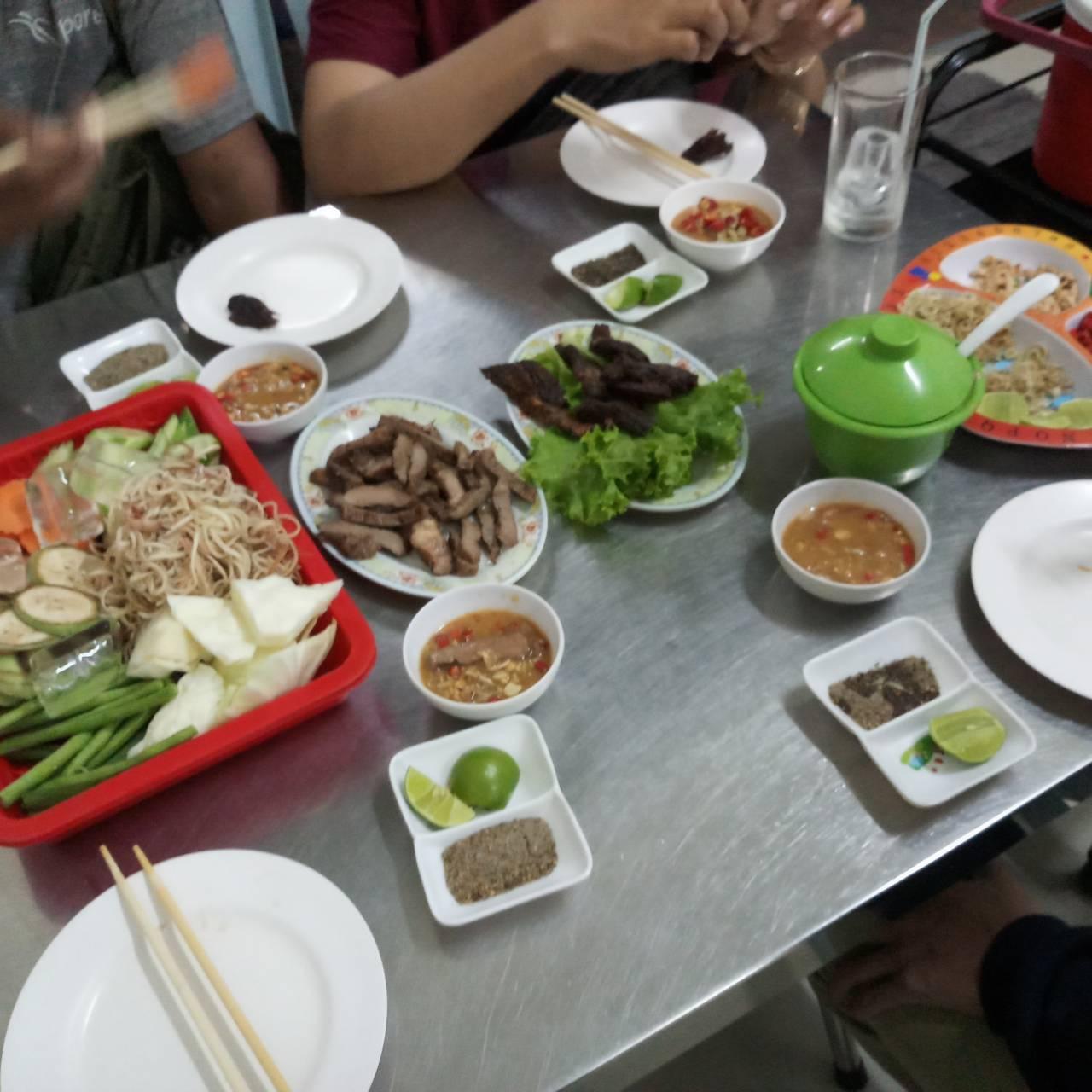 อาหาร กัมพูชา ตลาดโรงเกลือ