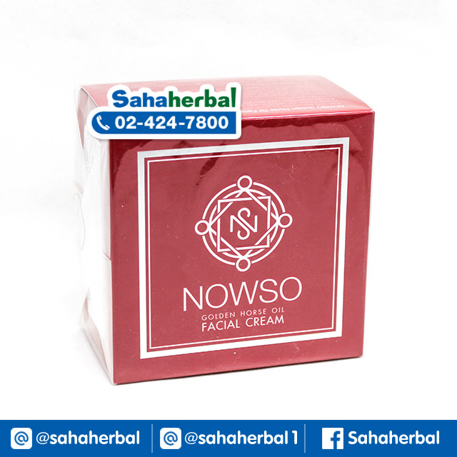 NOWSO ครีมน้ำมันม้าทองคำ นาวโซ SALE 60-80% ฟรีของแถมทุกรายการ
