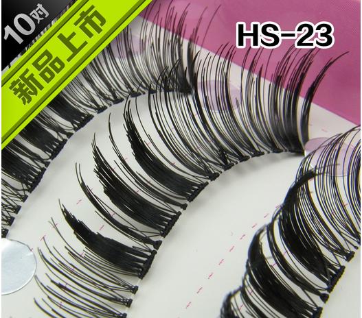 HS-23# ขนตาเอ็นใส (ราคาส่ง) ขั้นต่ำ 15 เเพ็ค คละเเบบได้
