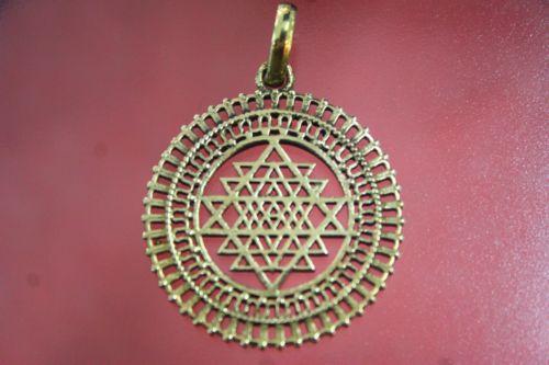 จี้ศรีจักรายันตรา (Sri Chakra Yantram)