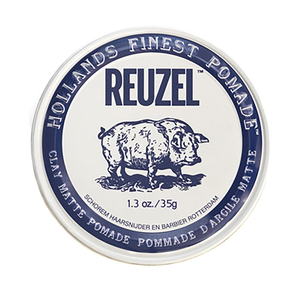 Reuzel CLAY MATTE POMADE (Water Based) ขนาด 1.3 oz.