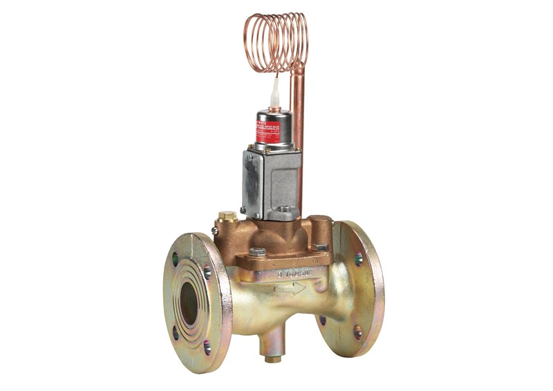 WVTS, Thermostatic valves with temperature sensitive sensor