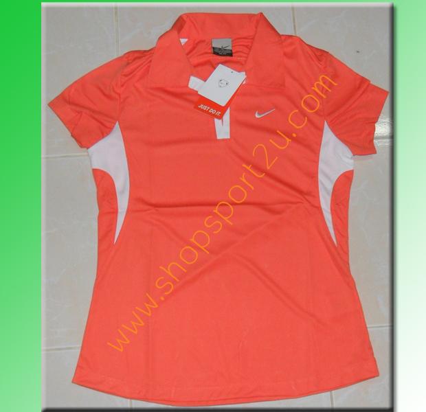 เสื้อกีฬา nike สำหรับผู้หญิง สีส้ม