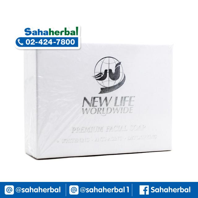 สบู่นิวไลฟ์ New Life Premium Facial Soap SALE 60-80% ฟรีของแถมทุกรายการ