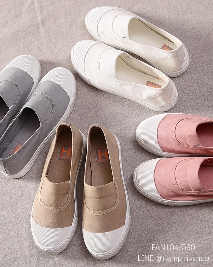 รองเท้าผ้าใบแฟชั่น 35-39 (พรีออเดอร์)