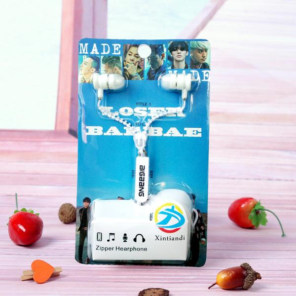 Zipper Headphone MADE BIGBANG [LLEJ031]-ระบุสี-