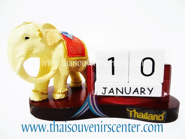 ช้างทรงเครื่องกับปฏิทิน (Pre-Order คละแบบช้าง)