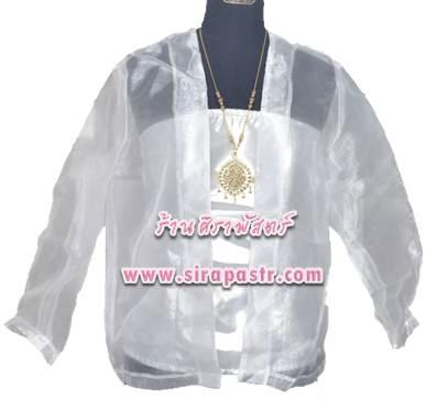 เสื้อผ้าแก้ว-แขนยาว K2 (รายละเอียดตามหน้าสินค้า) **ไม่รวมเกาะอก