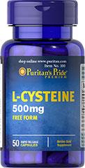 L-Cysteine ขาวไม่พอต้องมีออร่า ปรับผิวออร่าออกแดดแล้ววิ้งๆ 500 mg. 50 เม็ด