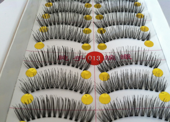 V-013 ขนตาเอ็นใส(ราคาส่ง)ขั้นต่ำ 15 เเพ็ค คละเเบบได้